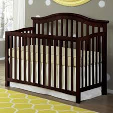 Cherry Convertible Crib by Imagio Baby Summit Park Collection Convertible Crib In Chocolate Mist