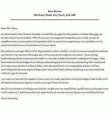 sample cover letter hospitality hospitality staff cover letter