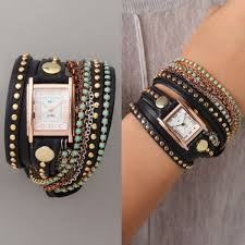 bracelet wrap diy images Diy watch wrap bracelets fashion beauty news jpg