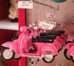 macys pink vespa scooter ornament scooter swag