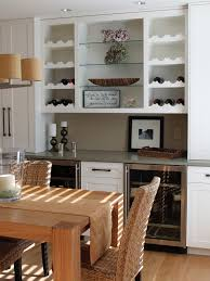 Dining Room Table With Wine Rack by Wine Rack Design Dining Room Transitional With Table Runner Wine
