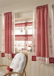 Cottage Kitchen Curtains by Best 25 Red Kitchen Curtains Ideas On Pinterest Kitchen