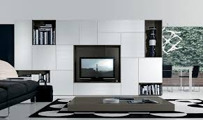 Wall Hung Tv Cabinet With Doors by Tv Wall Storage Unit White Brushed Timber Doors Paneling