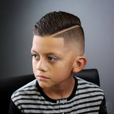 boys comb over hair style fade haircuts