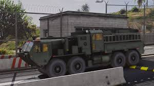 tactical truck m1142 tactical fire fighting truck add on gta5 mods com