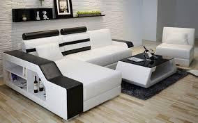 canapé d angle en cuir italien design et pas cher modèle robin