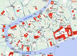 Map Venice Italy by Tourist Maps U2013 Traveling Couple