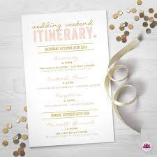 wedding itinerary wedding weekend itinerary wedding day timeline digital file