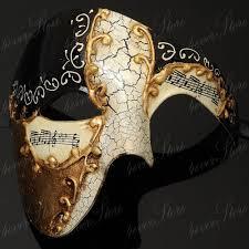 mens venetian mask black phantom mask black musical half venetian masquerade