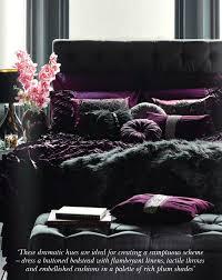 Plum Bedroom Decor Purple Bedroom Interiors By Color 12 Interior Decorating Ideas