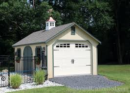 garages u0026 large storage single car garages backyard unlimited