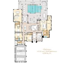 sophisticated single story luxury house plans contemporary best