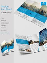 architecture brochure templates free stunning design architect a3 tri fold brochure template free