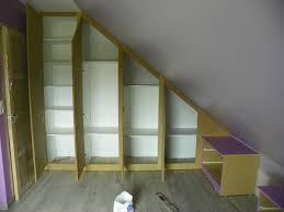 faire un placard dans une chambre sur murale armoire decorer garcon complete amenagement alinea pente