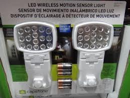 capstone wireless motion sensor light 2 pk capstone wireless motion sensor door entry light 2pk fairdinks