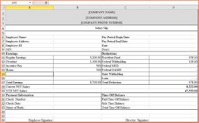 payslip template word document eliolera com
