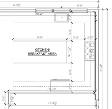 how to measure for an island countertop is there an ideal ratio for a kitchen island