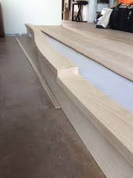 installing a curved stair nosing part 2 wood floor business