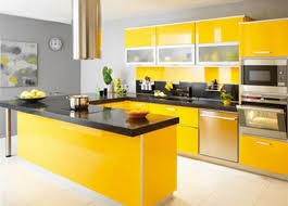 Small Kitchen With Reflective Surfaces Delecon Kitchen
