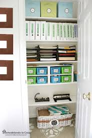 Office Storage Containers - remodelando la casa home office storage and organization