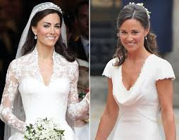 kate middleton wedding dress kate middleton v pippa middleton s weddings royal galleries