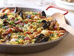 traditional paella recipe myrecipes