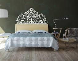 Headboard Wall Decal Modern Design Master Bedroom Headboard Wall Decal Home Decoration