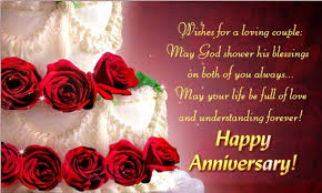 wedding day wishes happy wedding anniversary messages wishes for with image