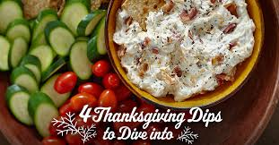 4 thanksgiving dips and spreads recipes valley