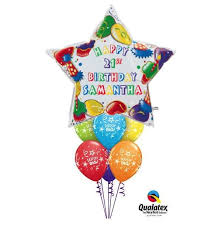 birthday balloons delivered 36 personalised birthday balloon bouquet gifts in the