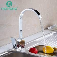 nieneng square kitchen faucet fixtures torneira decoration cozinha