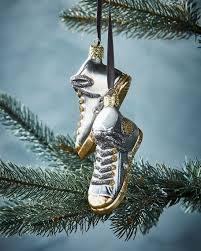 christborn wegner silver sneakers ornament
