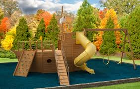 fun rooms beautiful ship shaped brown modern wood kids outdoor