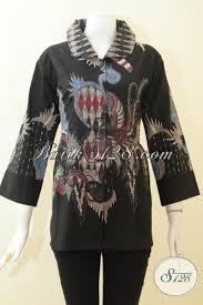 desain baju batik halus batik tulis halus hitam desain mewah model baju batik modern 2018