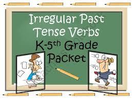 47 best verb tense images on pinterest verb tenses irregular