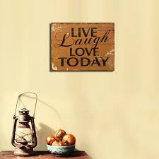 Live Laugh Love Signs Live Laugh Love Wooden Wall Decor Shenra Com