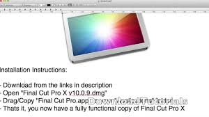final cut pro for windows 8 free download full version final cut pro x 10 0 9 tutorial download free youtube