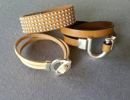 buckle leather wrap bracelet images Wrap bacelet tan leather bracelet buckle bracelet magnetic jpg