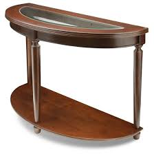 Cherry Wood Sofa Table by Sun U0026 Pine Renson Curved Glass Top Sofa Table Dark Cherry Target