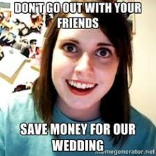 Attached Girlfriend Meme - overly attached girlfriend heard this while watching the smurfs