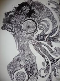 zentangle is the latest craze and can also be referred to as