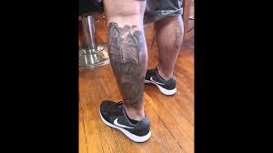 tattoo leg sleeve dia de los muertos youtube