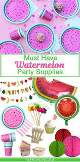 best 25 watermelon party decorations ideas on pinterest