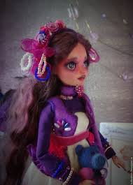 Purple Mood Buy Blackberry Purple Mood Ooak Purple Doll Dolls Doll