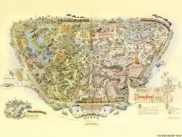 Disney Maps Disneyland 1940 Neogeography Carto Infography Pinterest