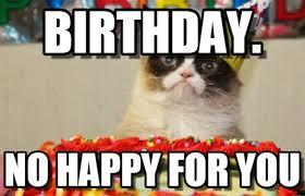 Grumpy Cat Birthday Memes - birthday grumpy cat 2018 funny cats