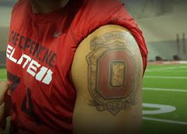 Ohio State Tattoos - quarterbacks with tattoos pictures to pin on tattooskid