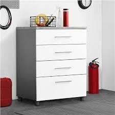 4 drawer base cabinet systembuild furniture latitude 4 drawer base cabinet white gray