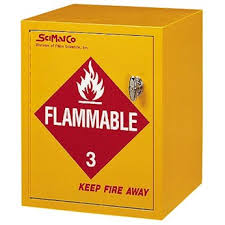 Flammable Storage Cabinet Scimatco Sc8021 Flammable Storage Cabinet 4 Gallon Capacity