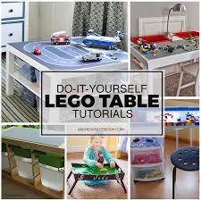 Legos Table Diy Lego Tables Kids Love